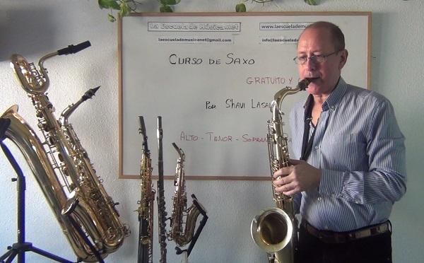 curso gratis de saxofon