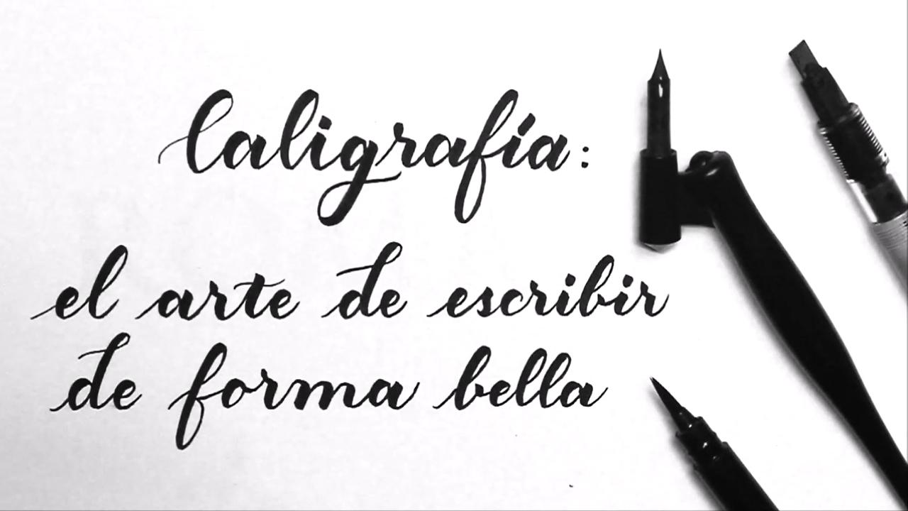 Imagen de caligrafía